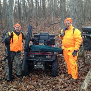 ATV hunting Canada 2012